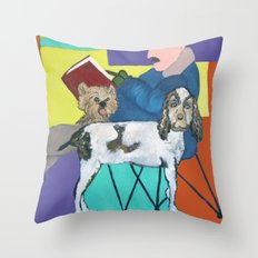 Caught Up in the Moment Throw Pillow