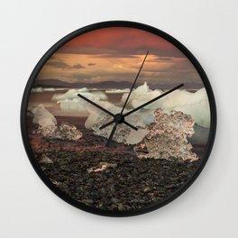 Jokulsarlon 5 Wall Clock