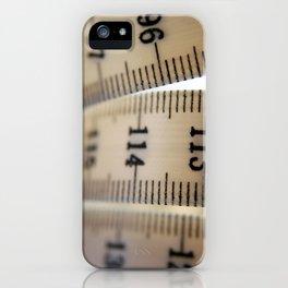 Tape Measure iPhone Case
