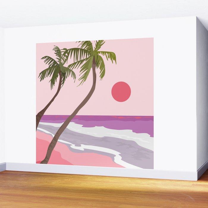 Tropical Landscape 01 Wall Mural