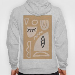 Abstrac Line Shapes 10 Hoody