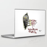 resident evil Laptop & iPad Skins featuring Resident Evil Pop Art Tribute by DCon