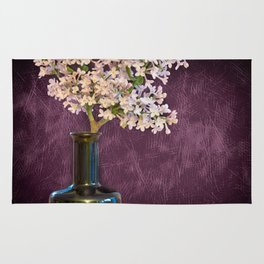 Lilac and Bottle Rug