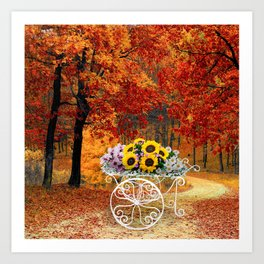 From Autumn to Spring Art Print