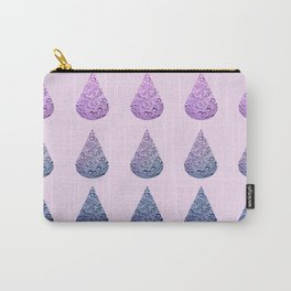 drops of blurple Carry-All Pouch