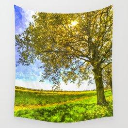 The Daffodil Summer Farm Art Wall Tapestry