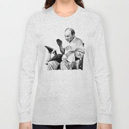 Putin spanking Boris Long Sleeve T-shirt