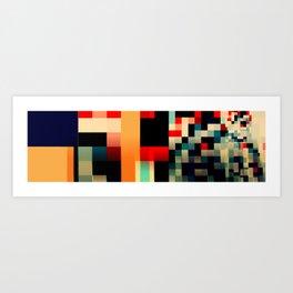Patchwork III Art Print
