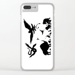 Case Full of Creatures Clear iPhone Case