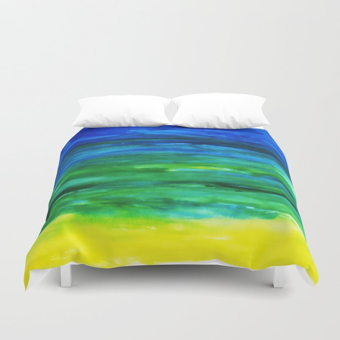 Watercolor Dreams Duvet Cover