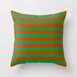 Belarus flag stripes Throw Pillow