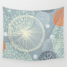 Geodesic by Friztin Wall Tapestry