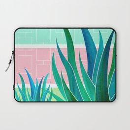 Palm Springs Mood ~ Midcentury Succulents Laptop Sleeve