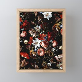 Night Garden XXXVIII Framed Mini Art Print