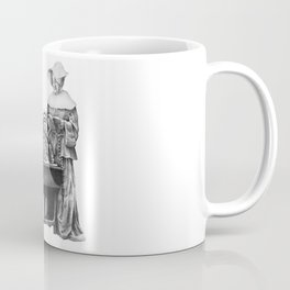 In which a cosmonaut is rendered quizzical Coffee Mug