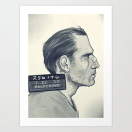 The Nose Art Print