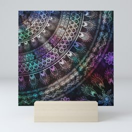 Galaxy Mandala Mini Art Print