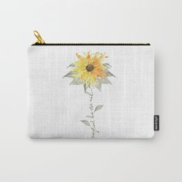 You are my sunshine sunflower Carry-All Pouch