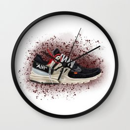 OFF WHITE PRESTO Wall Clock