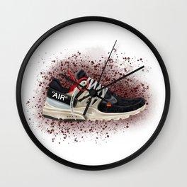 OFF WHITE PRESTO Wall Clock