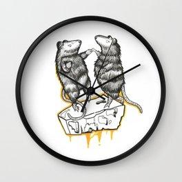 Love Rats !  Wall Clock