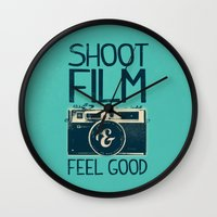 film Wall Clocks featuring Shoot Film by Victor Vercesi