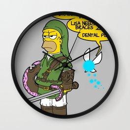 The Simpsons: Legend of Zel... er- D'OH! Wall Clock