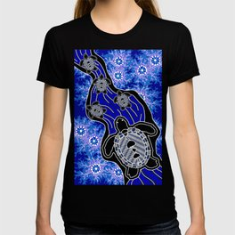Baby Sea Turtles - Aboriginal Art T-shirt