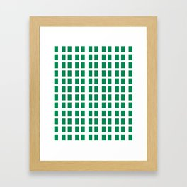 Flag of nigeria -nigeria, nigerian,africa,hausa,igbo,Yoruba,Naira,Lagos,Kano Framed Art Print