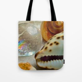 Lemurian Seed Rainbow - The Peace Collection Tote Bag