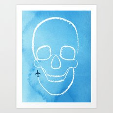 Rough Flight Art Print