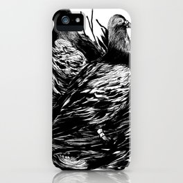 Carrier Pigeons iPhone Case
