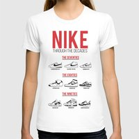 nike T-shirts featuring Nike Through the Decades  by halmills