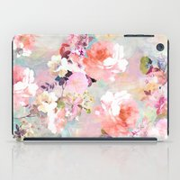tree iPad Cases featuring Love of a Flower by Girly Trend