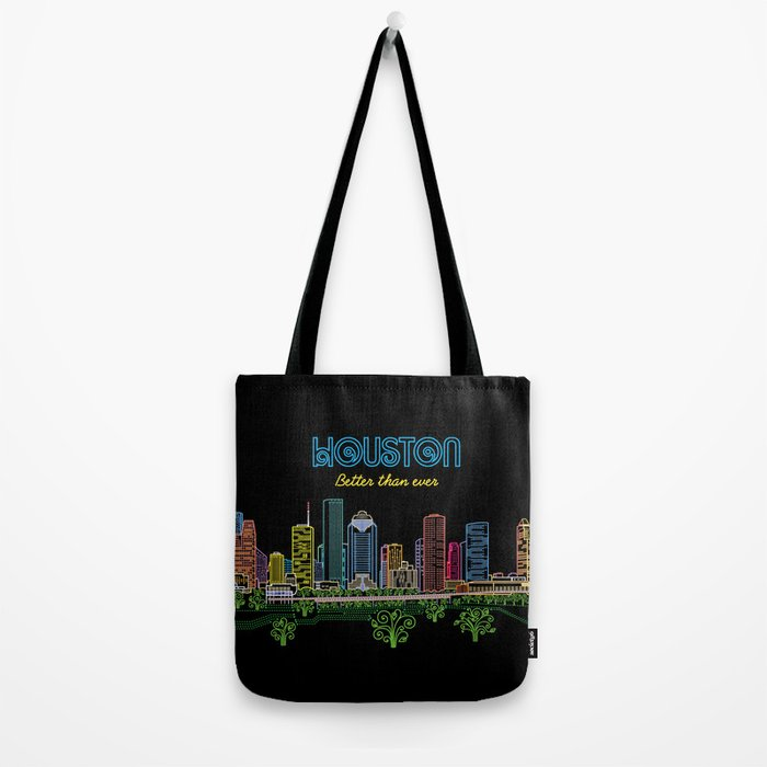 Houston Better Than Ever Circuit Tote Bag