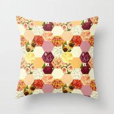 Nature Hive Throw Pillow