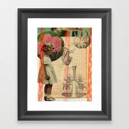 body parts Framed Art Print