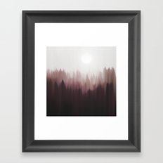 Autumn Fog Framed Art Print