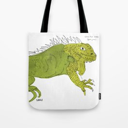 Iguana Iguana Tote Bag