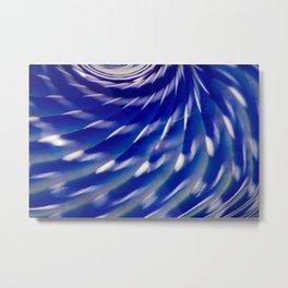 Shelled Blue Metal Print