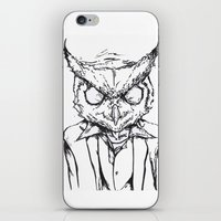 hotline miami iPhone & iPod Skins featuring Hotline Miami by Leamartes