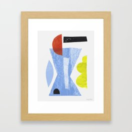 Aerogramme II Framed Art Print