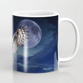 Owl in Flight Coffee Mug