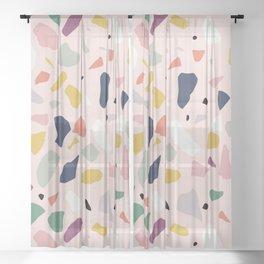 Big Terrazzo Sheer Curtain