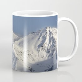 Hight snowy mountains. 3489 meters Coffee Mug