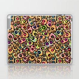 Calaveras del Día de los Muertos. Laptop & iPad Skin