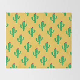 Pattern #13 B: Cactus Throw Blanket