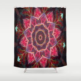 Vortex Shower Curtain