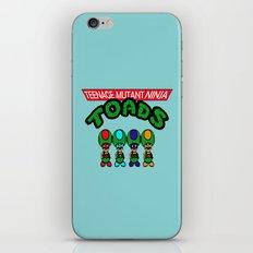 Teenage Mutant Ninja Toads iPhone Skin