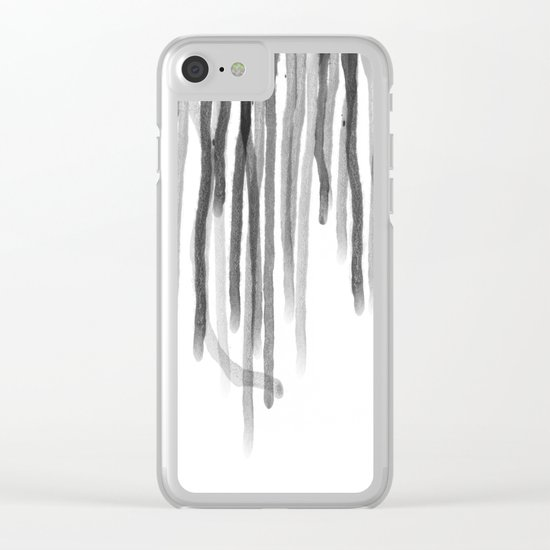 Acid Rain Clear iPhone Case